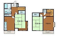 [テラスハウス] 神奈川県川崎市麻生区金程4丁目 の賃貸【/】の間取り