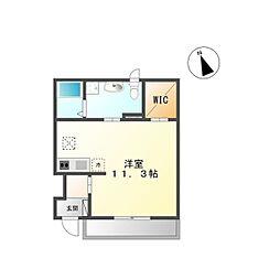 Y's square92(ワイズスクエア92)[1階]の間取り