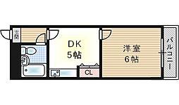 サンキューマンション[3階]の間取り