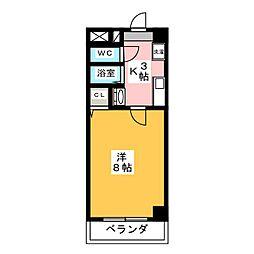 ヤマトマンション昭和橋[8階]の間取り