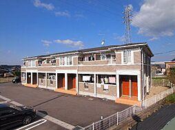 岐阜県美濃加茂市下米田町則光の賃貸アパートの外観