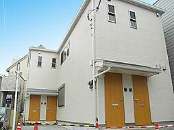 神奈川県横浜市港北区菊名1丁目の賃貸アパートの外観