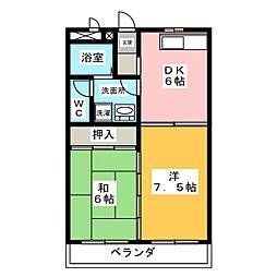 フォレストボックス[1階]の間取り