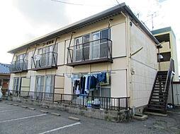 福岡県北九州市小倉北区中井3丁目の賃貸アパートの外観
