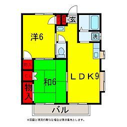 鈴木ハイツABC[1階]の間取り