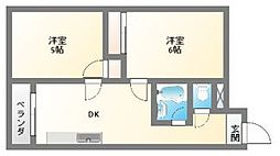 EPO南堀江ビル[2階]の間取り