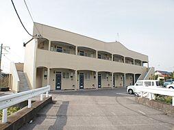 栃木県宇都宮市今泉新町の賃貸アパートの外観