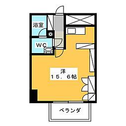 ドゥーエ大須[12階]の間取り