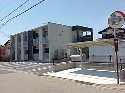 兵庫県加古郡播磨町宮西の賃貸アパートの外観