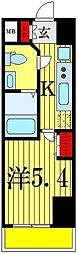 フェルクルールプレスト堀切菖蒲園[2階]の間取り