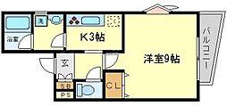 K's garden[3階]の間取り