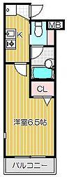 プライムアーバン目黒リバーサイド[3階]の間取り