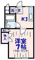 ミヤコ[1階]の間取り