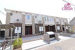 奈良県磯城郡田原本町大字今里の賃貸アパートの外観