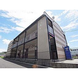 奈良県香芝市下田東の賃貸アパートの外観