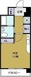 M's court(エムズコート)[5階]の間取り