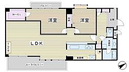 コスモプレイス田端[5階]の間取り