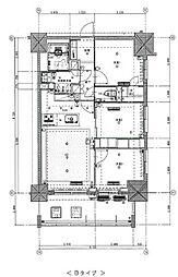 東京メトロ丸ノ内線 新宿御苑前駅 徒歩5分の賃貸マンション 12階3LDKの間取り