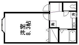 カルディアI[2階]の間取り