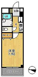 日佑狭山マンション[6階]の間取り