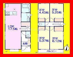 北綾瀬駅 3,490万円