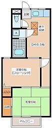 カーサピイノ[103号室]の間取り