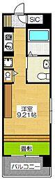 フェルト627[13階]の間取り