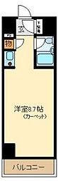 コアロード西新宿[4階]の間取り
