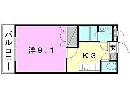 プラムガーデンSin[103 号室号室]の間取り