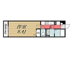 千葉県千葉市稲毛区天台4の賃貸マンションの間取り