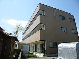 静岡県磐田市西貝塚の賃貸マンションの外観