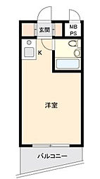 セントエルモ西早稲田[13階]の間取り