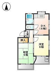 第5渡辺ビル[3階]の間取り