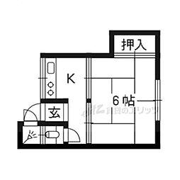 修学院駅 1.0万円