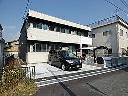 大阪府茨木市水尾1丁目の賃貸アパートの外観