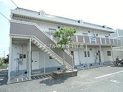 田金マンション B棟[1階]の外観