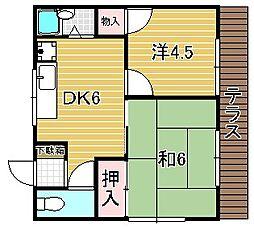 [一戸建] 大阪府吹田市片山町3丁目 の賃貸【/】の間取り