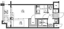 GRAND HILL IWASE BLD[206号室]の間取り