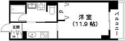 滋賀県近江八幡市鷹飼町の賃貸マンションの間取り