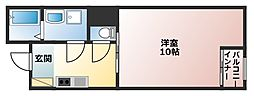WCMマンション[3階]の間取り