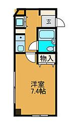 ライオンズマンション相模台第2[3階]の間取り