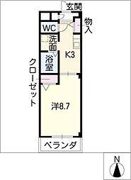 Espoir2[2階]の間取り