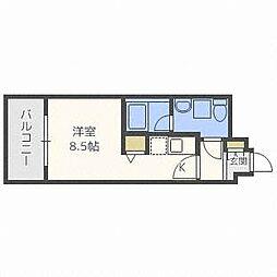 北海道札幌市中央区北四条西17の賃貸マンションの間取り