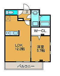 デパーチェ[3階]の間取り