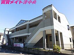 三重県津市高茶屋6の賃貸アパートの外観