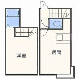 ソニア34[1階]の間取り