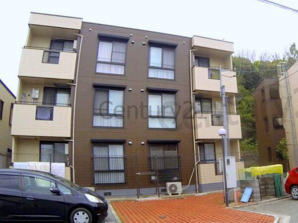 兵庫県西宮市岡田山の賃貸アパートの画像