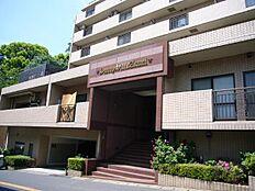 竹中工務店施工。重厚感のあるマンション