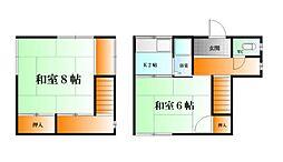 [一戸建] 神奈川県横須賀市富士見町1丁目 の賃貸【/】の間取り