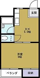 ワーカーVOL.1[2階]の間取り